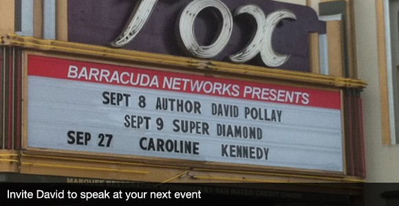 Invite David Pollay to speak at your next event