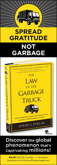 Law of the Garbage Truck Ad New York Times